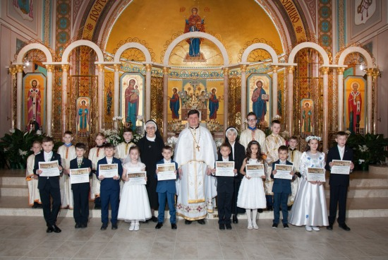 St. Nicholas First Solemn Holy Communion