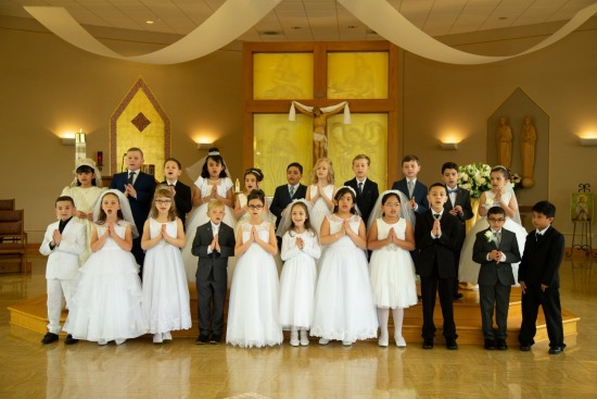 St. Maria Goretti First Holy Communion